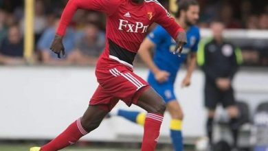 Photo of Everton sign Abdoulaye Doucoure from Watford