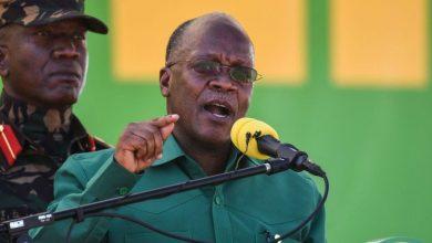 Photo of Tanzania's president John Magufuli dies aged 61