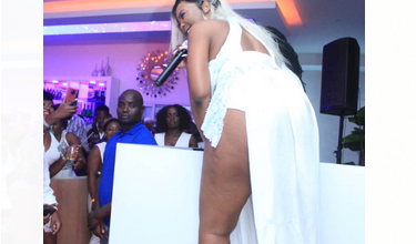Photo of Zani Challe gave it at the all white party at Epic. Spectacular views (Watch full Clip)